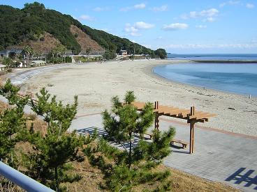 徳島県の海陽町大砂海岸
