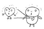 カメの心臓の絵