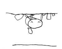 ルーフの亀の絵