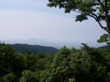 ポンポン山山頂からの眺め